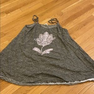 Lucky Brand green loose fit tank top